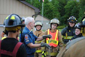 basic firemanship class with knots