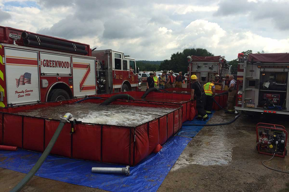 Rural water movement drill hosted by Vernon Central 2016